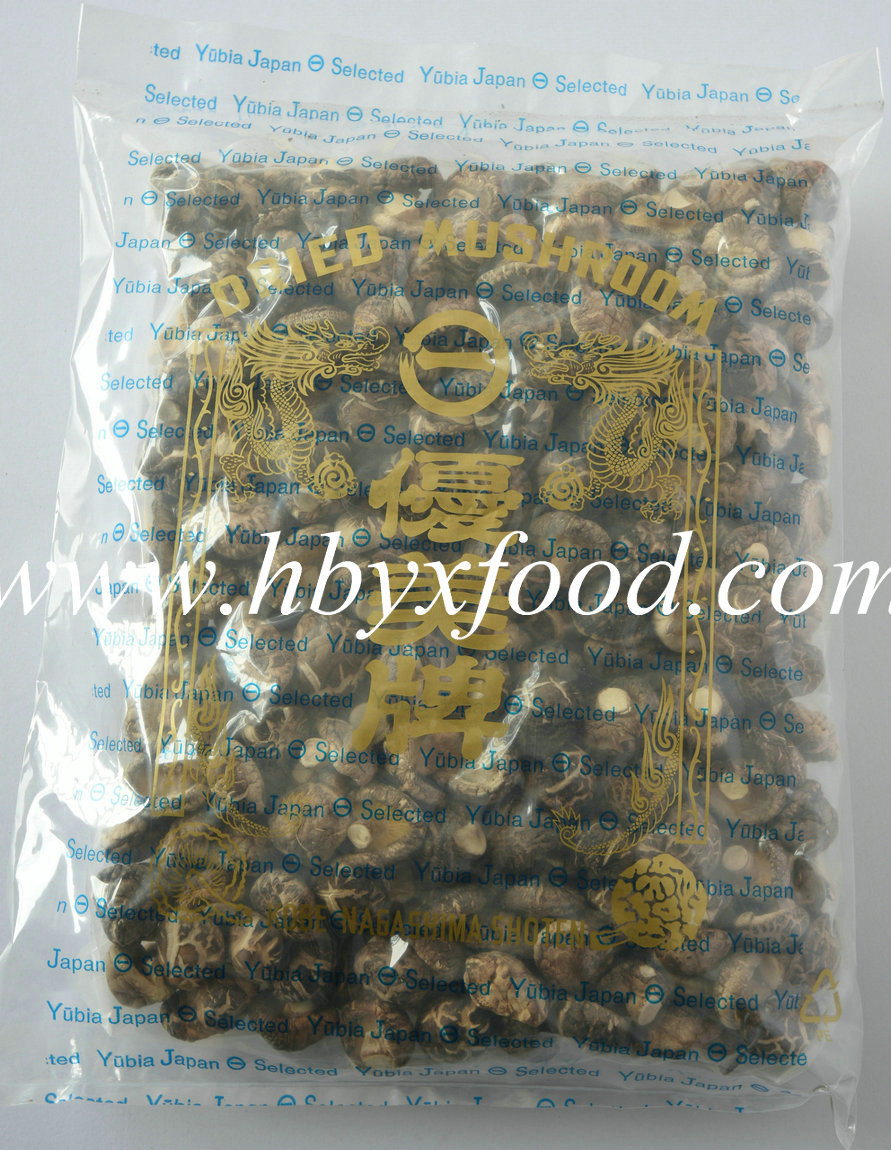 Famous Chinese Food Organic Dried Smooth Shiitake Mushroom