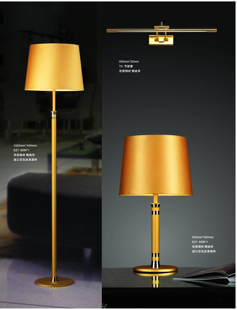Colorful Table Lamps on Gold Color Metal Table Lamp Moq15pcs   China Hotel Lamp Hotel Lighting