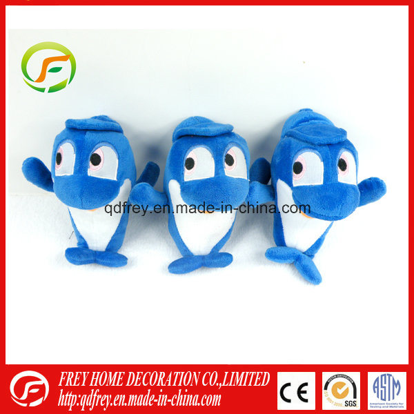 Hot Sale Plush Sea Animal Toy with Dophin Whale