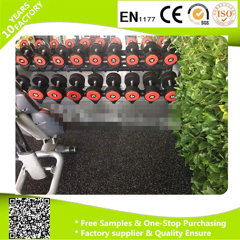 Crossfit Rubber Tile/ Rubber Gym Rubber Flooring