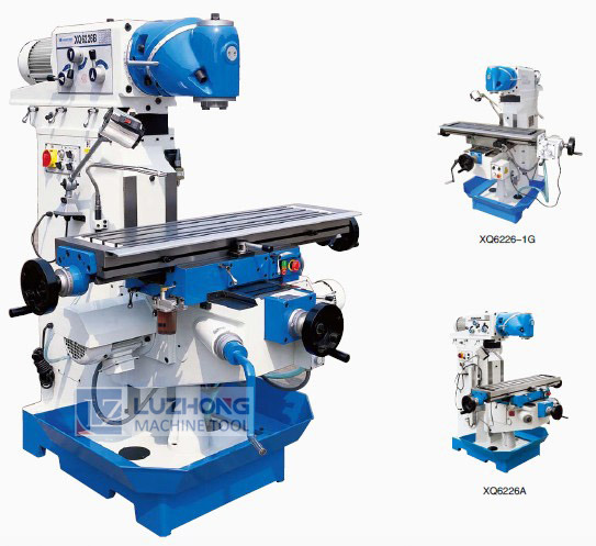 Universal Milling X6232 Swivel Head Knee-Type Milling Machine