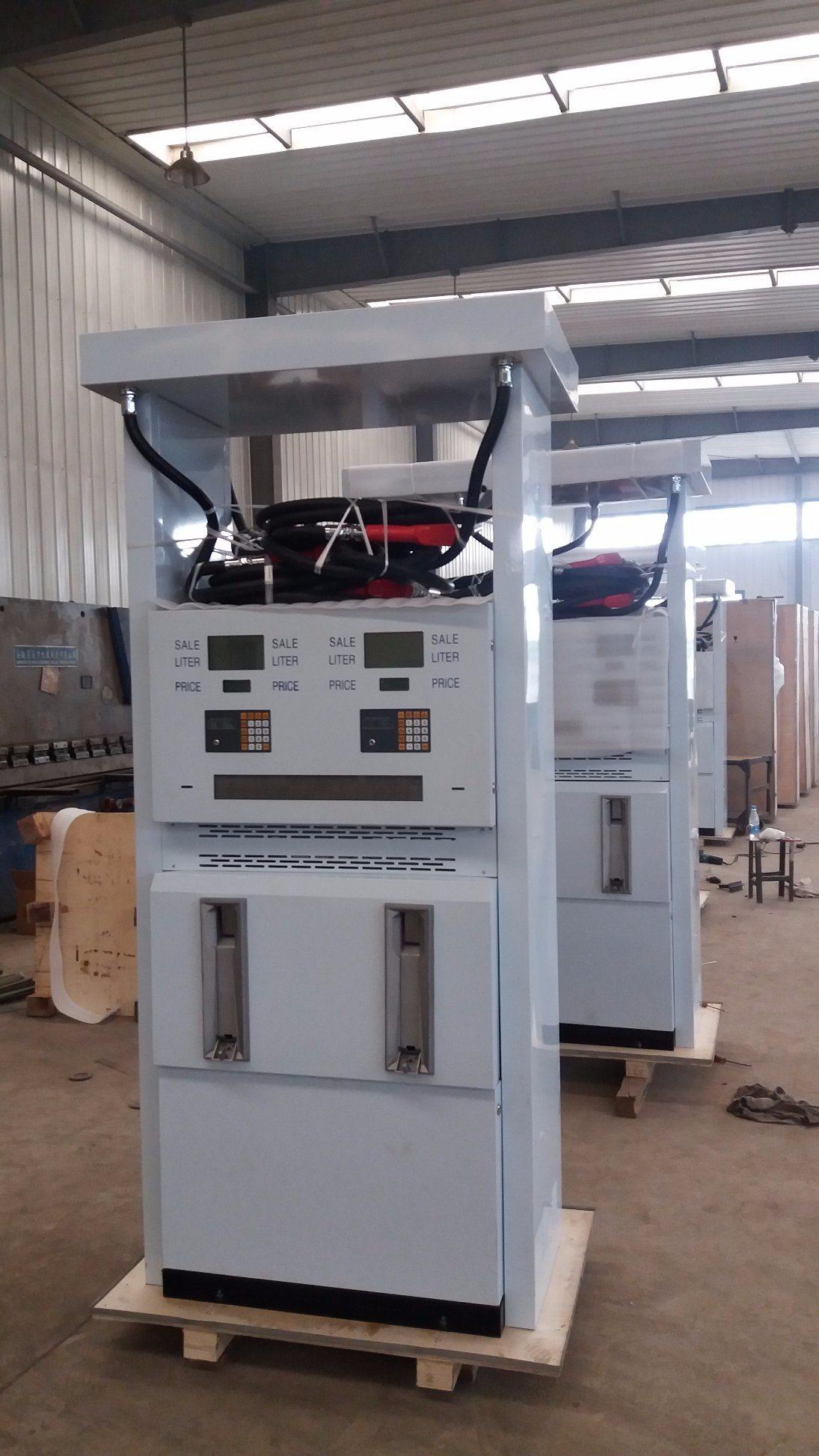 Four Nozzle, Two Pump Fuel Dispenser