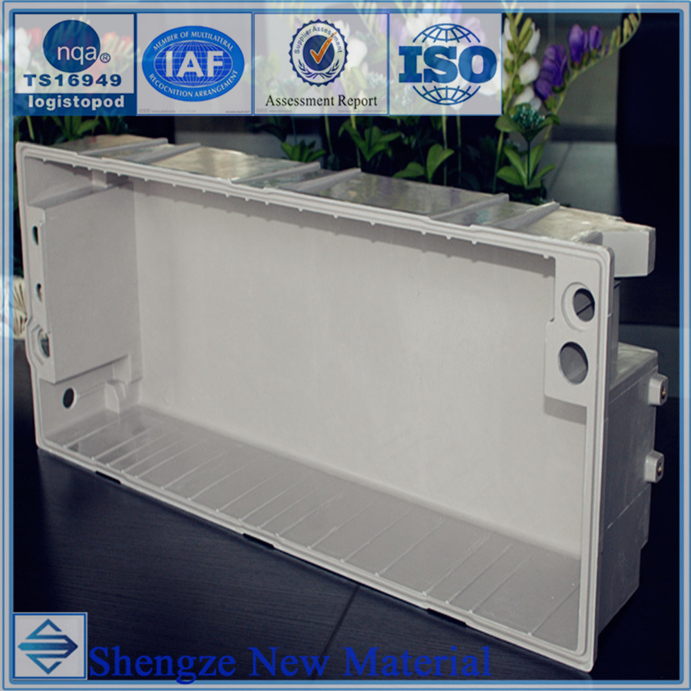 FRP Automobile Battery Pack, SMC Car Battery Box, Customize Automobile Parts