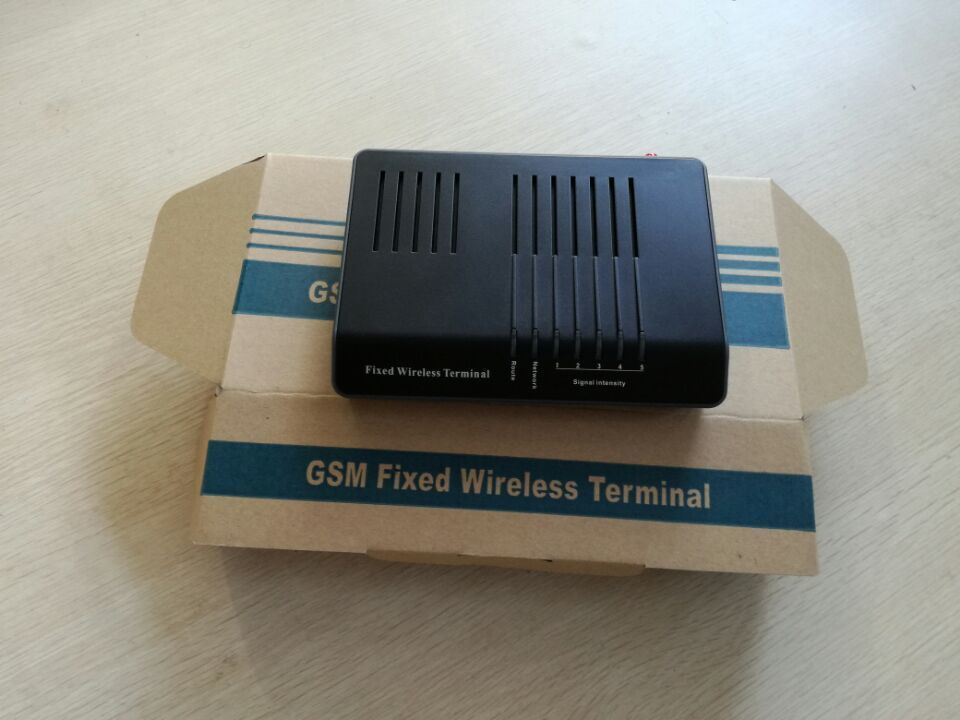 Single Port/SIM Card GSM Fixed Wireless Terminal with Battery/GSM FWT/GSM Gateway