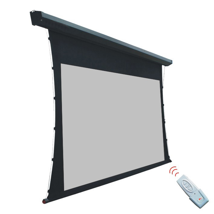 "180"" Tensioned Electric Projector Screen with Rear Projection"