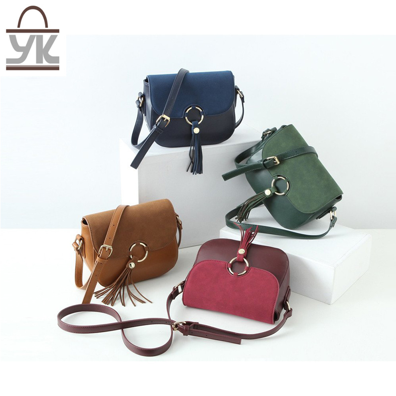 Contrast Color Fashion Lady′s Designer Leisure Shoulder Handbags