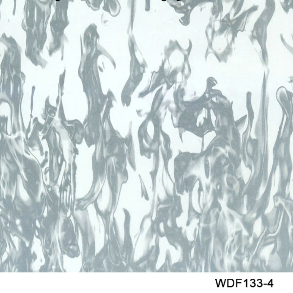 Kingtop 1m Width Skulls and Flame Design Hydrographic Dipping Liquid Image Hydrographic Film Wdf135-2