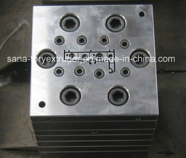 Plastic PVC Door Profile Extrusion Die Head