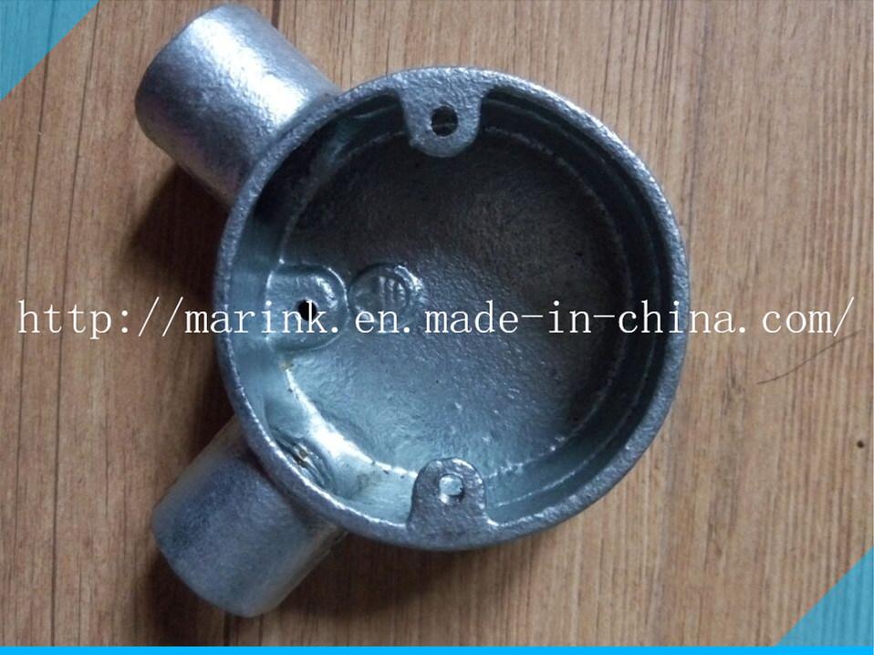 Galvanized Malleable Iron Conduit Box Bs4568/En50086 Angle Box