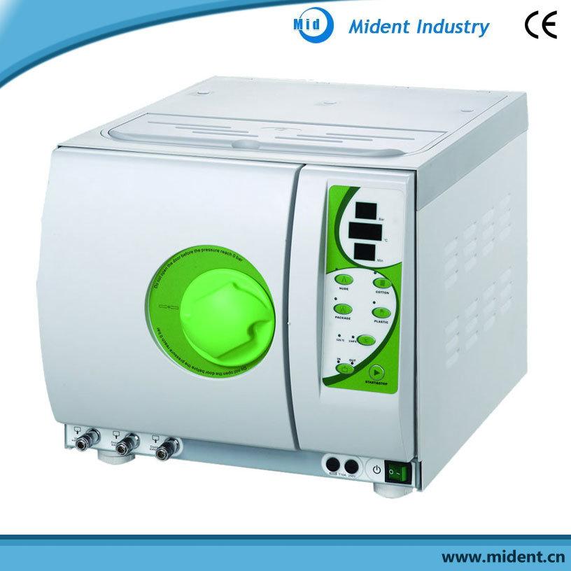 European B Standard Digital Display Dental Steam Sterilizer Three Pulsation Vacuum