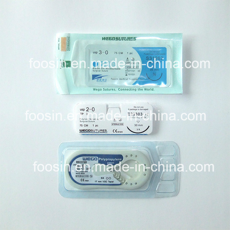 Silk Surgical Sutures Non-Absorbable Surgical Sutures