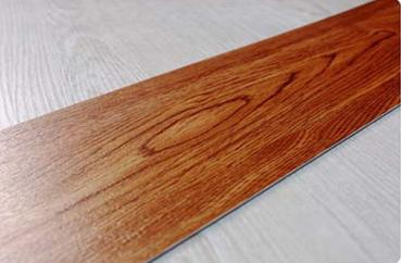 Indoor and Commercial Wood Grain Interlocking Lvt PVC Vinyl Floor