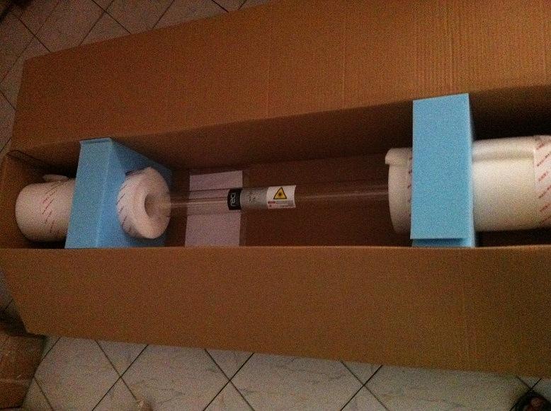 80W / 100W / 130W / 150W CO2 Laser Tube Reci/Yongli