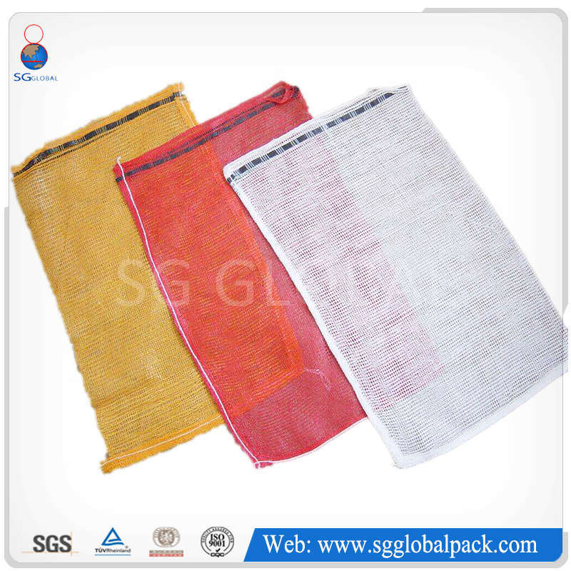Packaging Vegetable PP L-Sewing Leno Mesh Bag