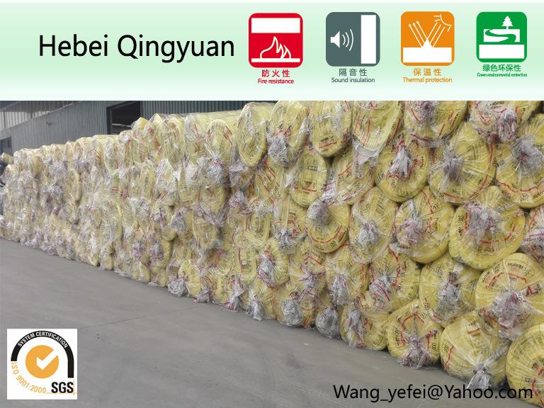 Glass Wool Felt for Building Insulation (10k40)