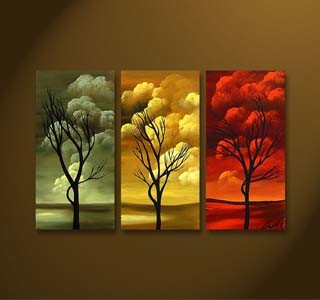 Combination Collages Oil Painting for Home Decoration