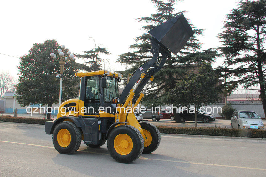 Hongyuan Brand CE Certificated Articulated 1.6 Ton Compact Loader