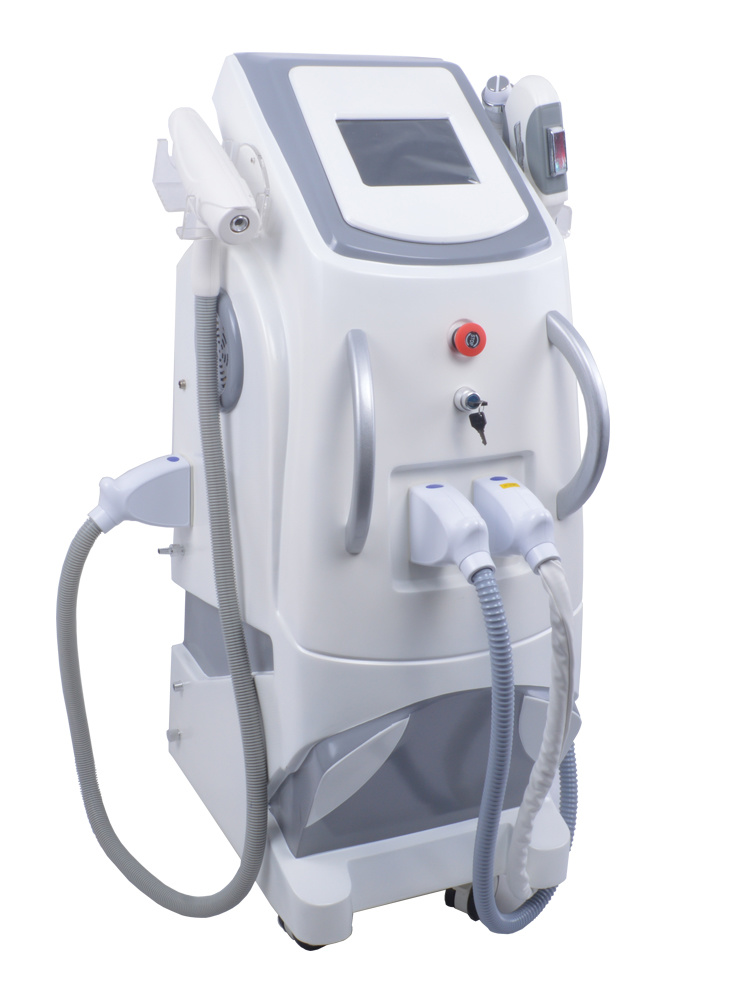 3 in 1 ND YAG Laser Elight IPL RF Hair Removal Beauty Salon Machine