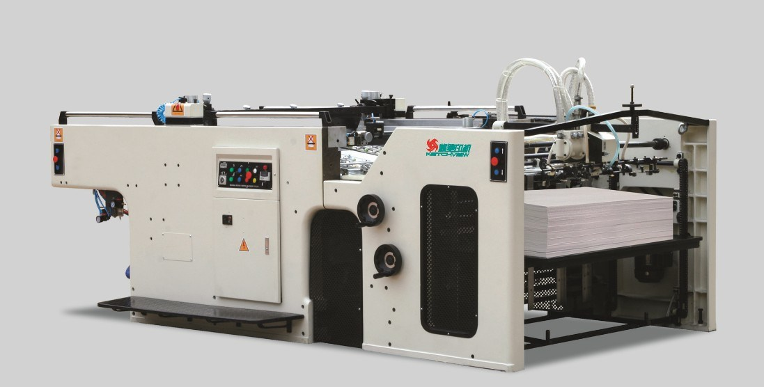 Automatic Swing Cylinder Screen Printing Machine for Paper