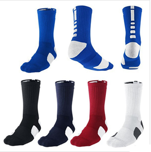 Wholesale High Quality Custom Dri Fit Elite Basketball Socks