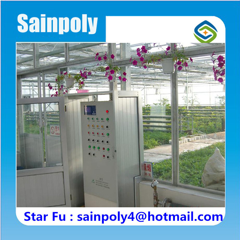 China Supplier Low Cost Glass Greenhouse for Commercial