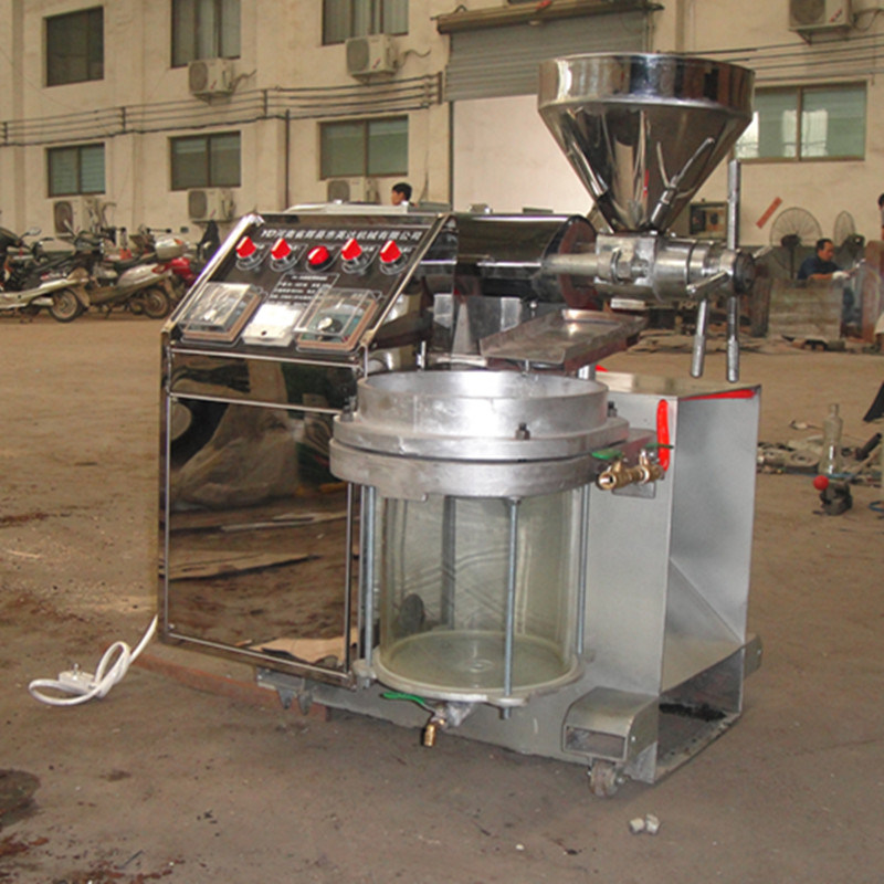 Video Available Sunflower Oil Press Machine