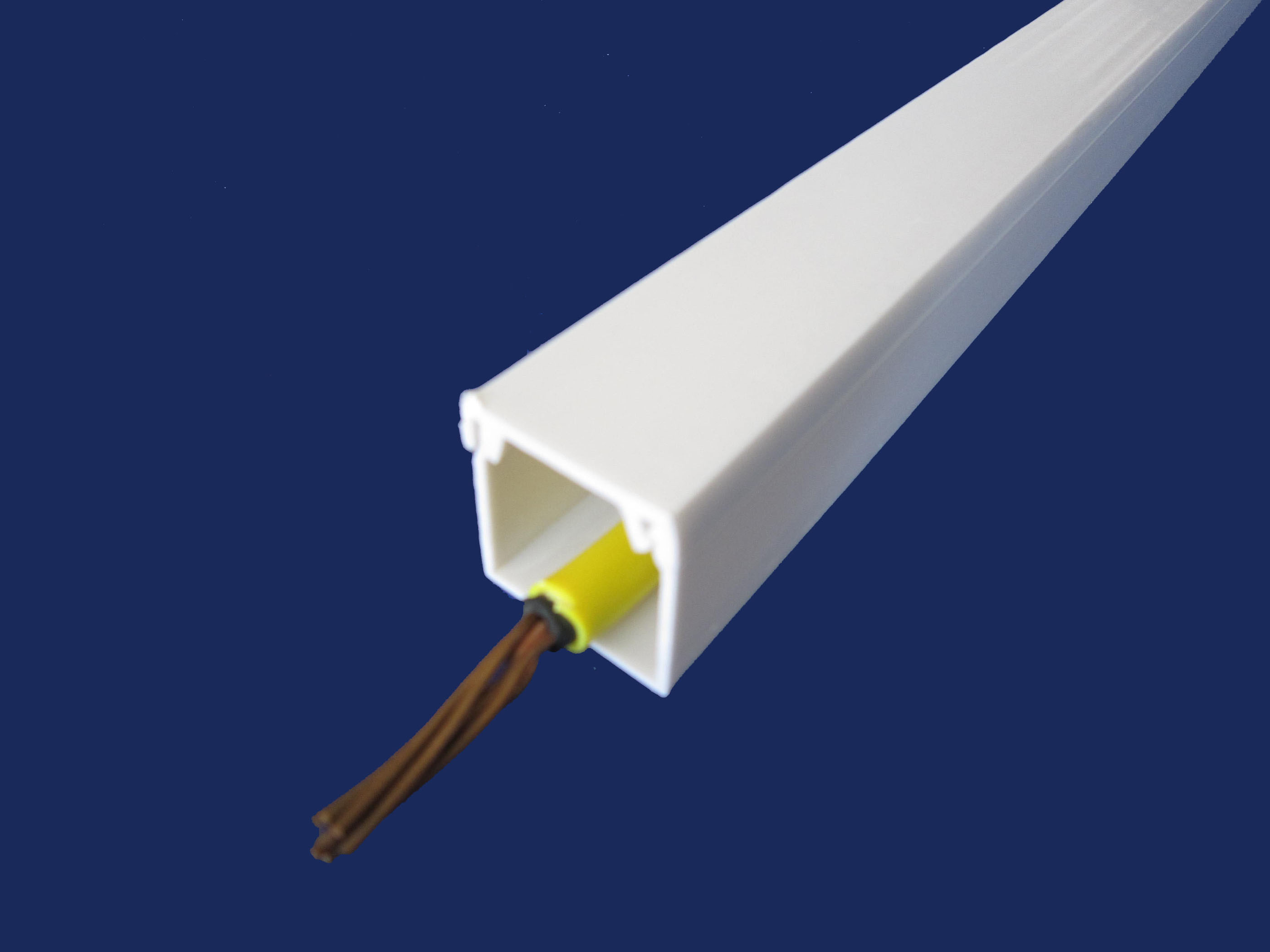 Pvc For Electric : China pvc square trunking for electrical wire sfc