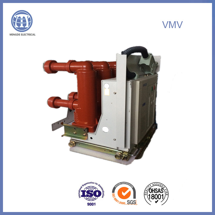 24kv 2500A Hv Vmv 50Hz Electric Withdrawble Vacuum Breaker for Switchgear