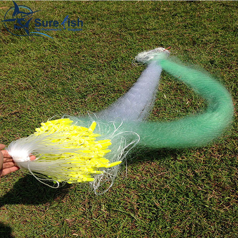 High Intensity Nylon Monofilament and Multifilament Fishing Net