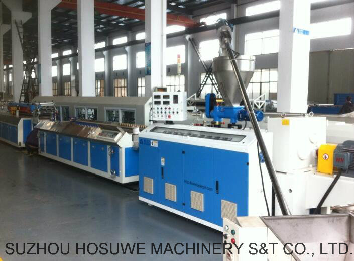 PVC Profile Production Line/Extrusion Line/Making Machine/Extruder