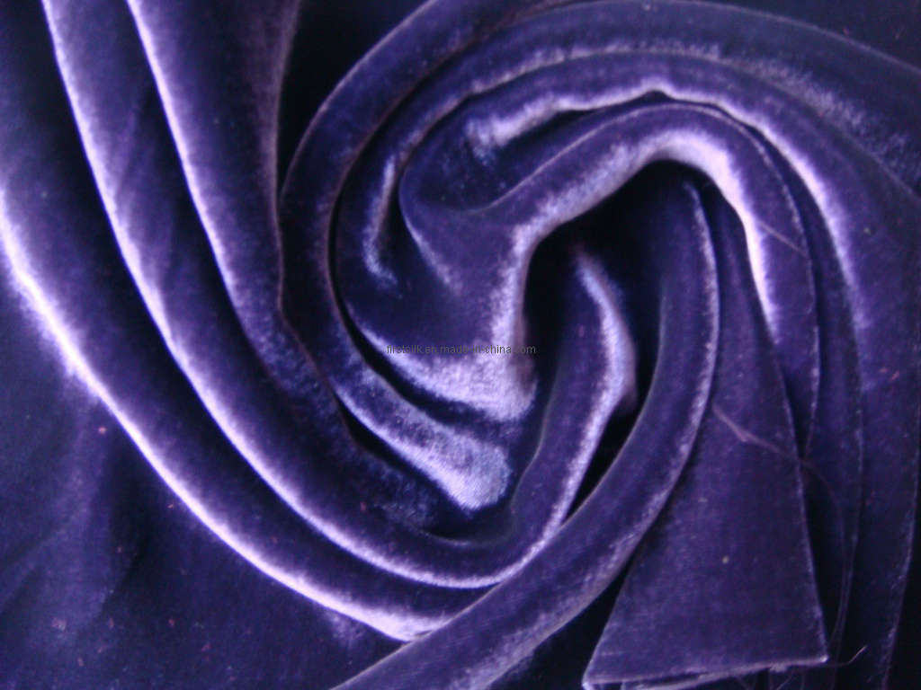 China silk rayon velvet fabric photos pictures made in for Velvet fabric