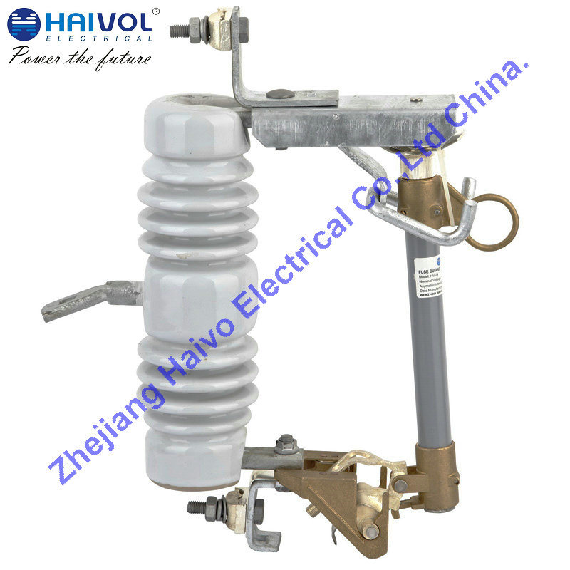 Outdoor Expulsion Drop-out Type Distribution Fuse Cutout 12kv