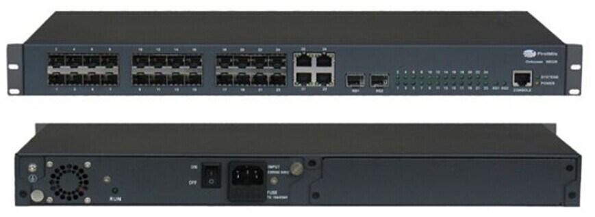 10ge L3 Fiber Optic Ethernet Switch