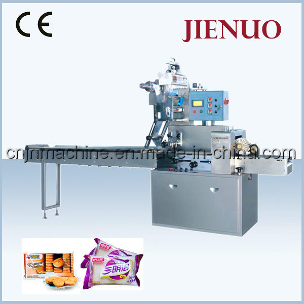 Pillow Automatic Cakes and Bread Sachets Packing Machine