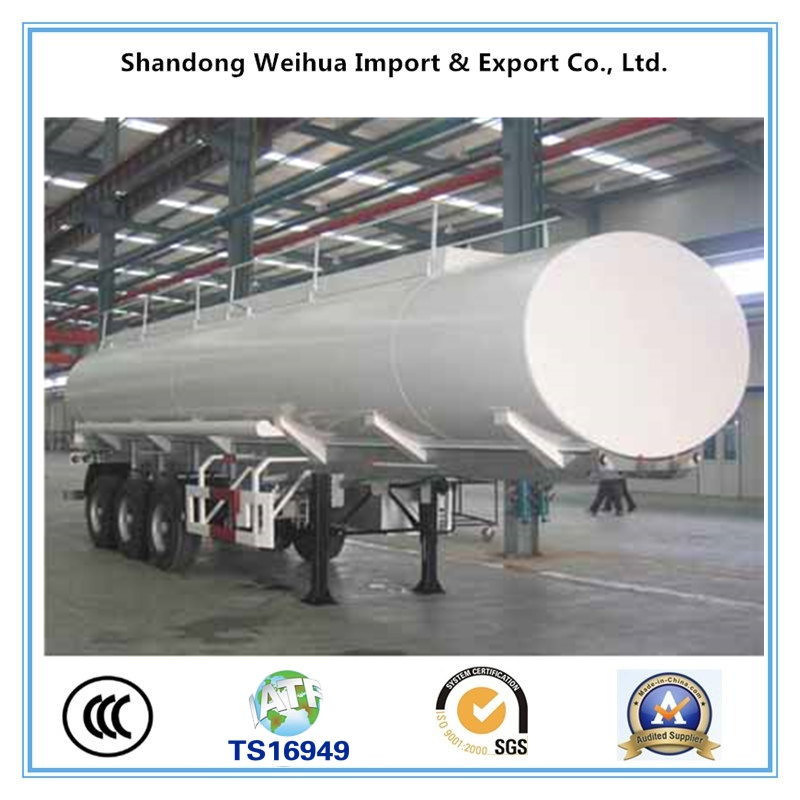 High Quality Truck Semi Trailer Oil /Fuel Tanker From Manufacturer