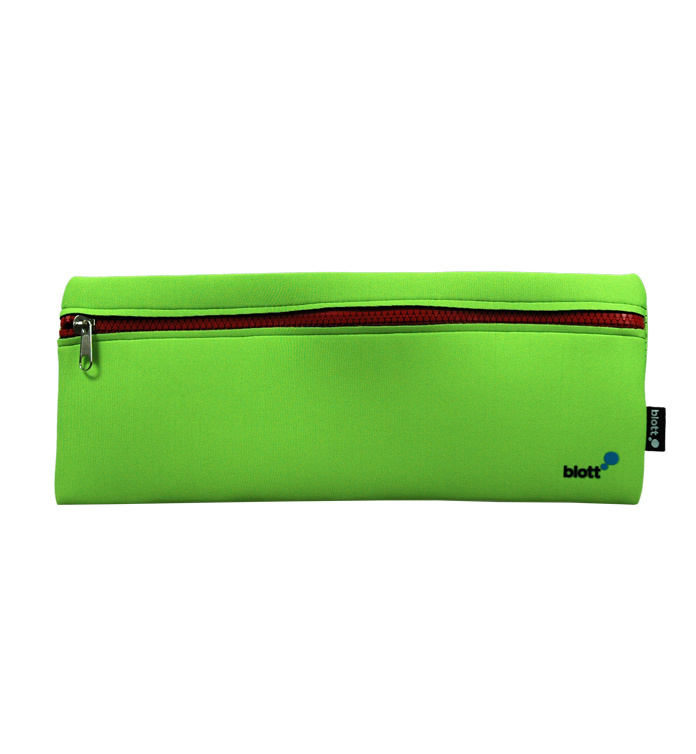 Charming High Quality Zip Promotional Neoprene Office Pencil Case