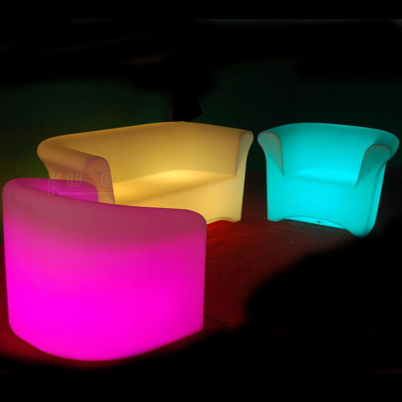 LED Sofa LED Light Sofa Bar Billiards Tables for Sale