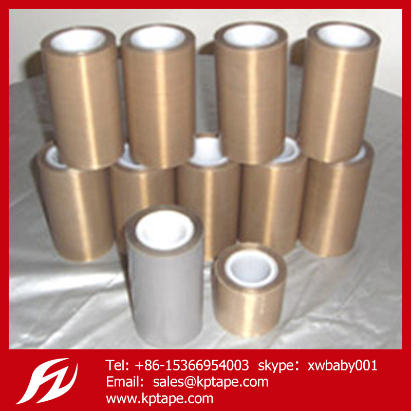0.13mm Thickness PTFE Tape Teflon Tape with Adhesive