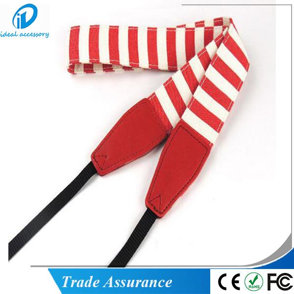 Fashion Rainbow Strip Dsrl Sports Camera Wrist Hanging Rope Strap