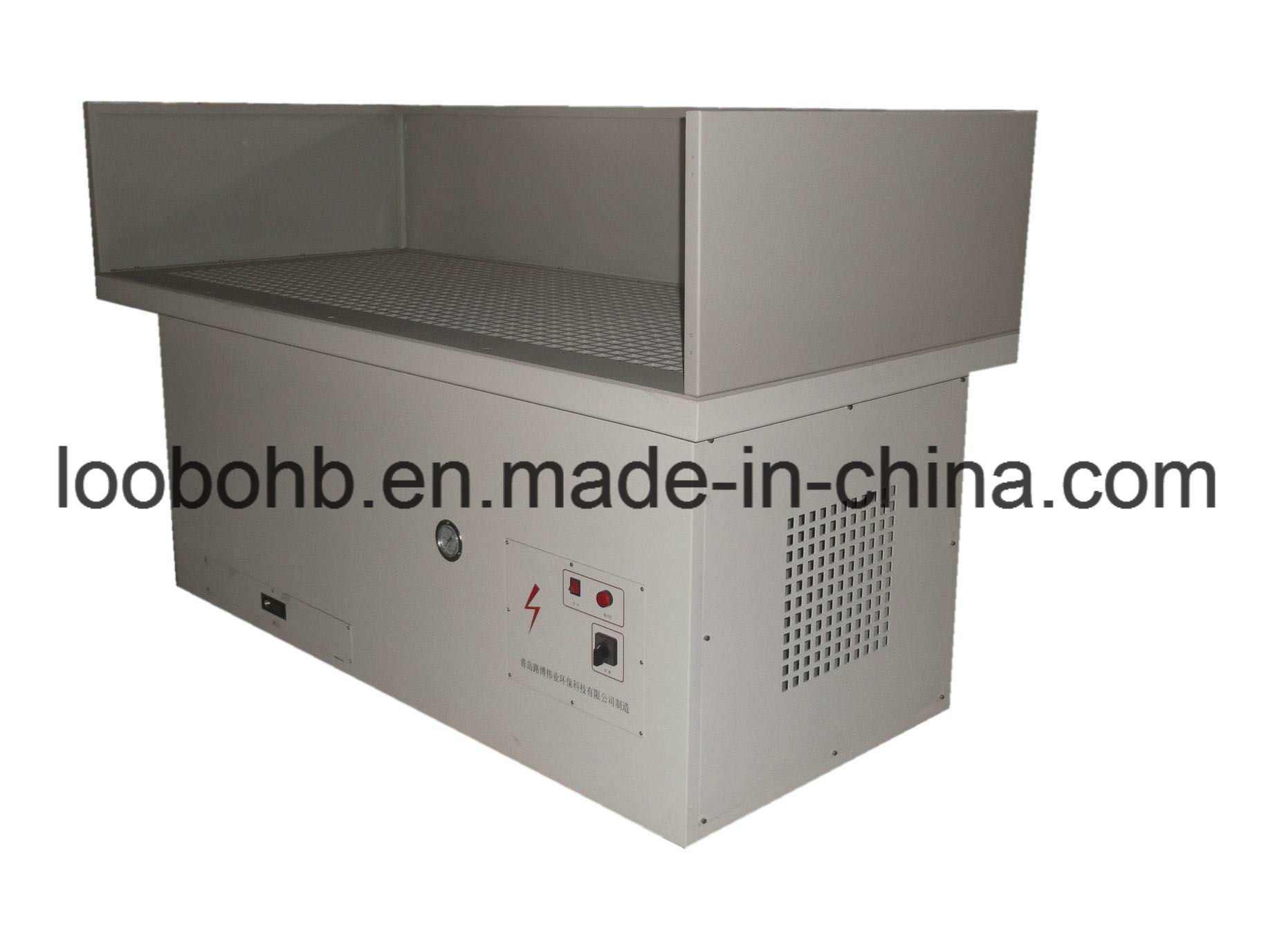 Downdraft Tables and Dust Collection System for Sanding/Grinding/Poling Dust