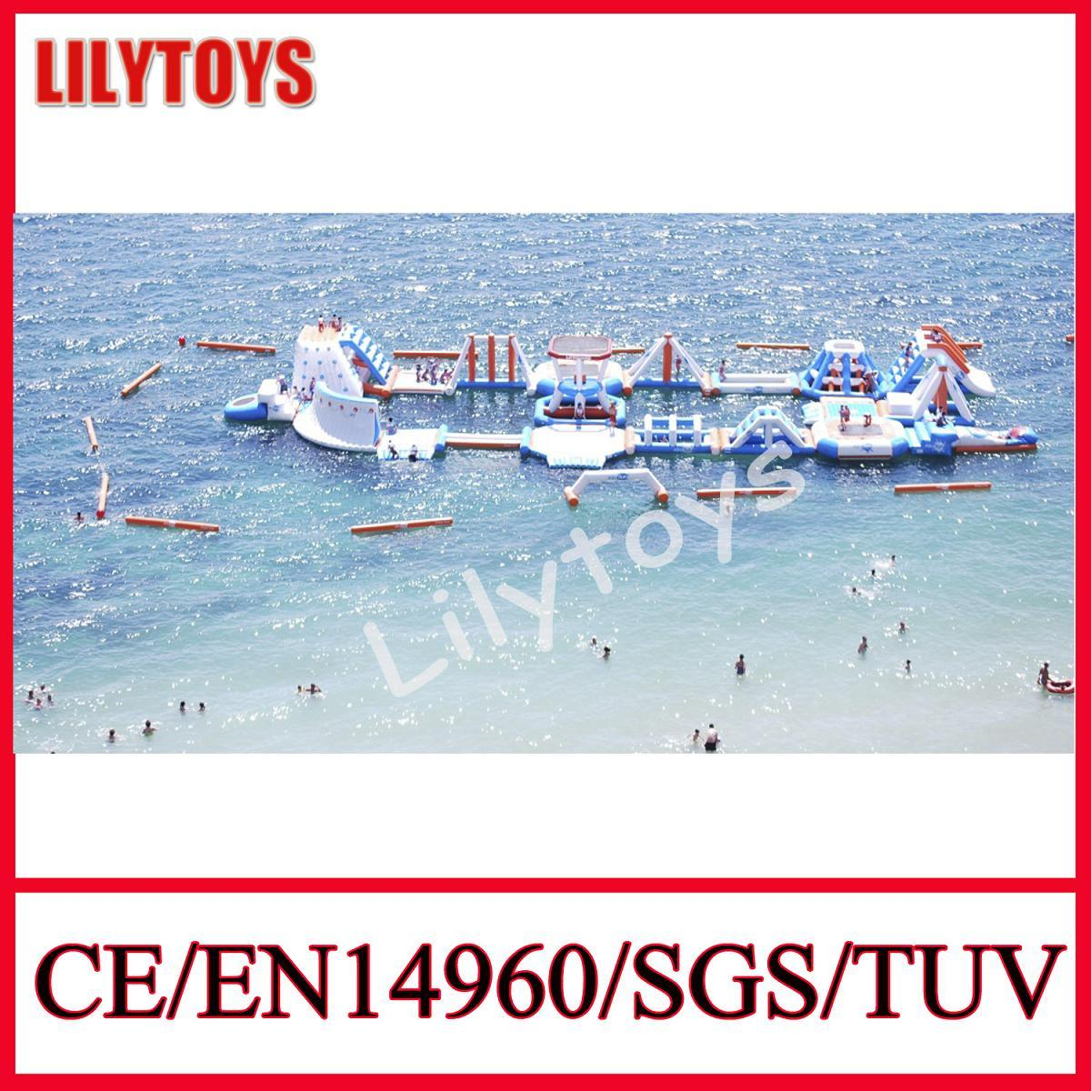 Newest Inflatable Water Game Floating Water Park Equipment Floating Water Park Sport Game for Sea