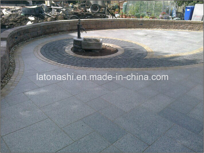 Natural Granite/Basalt/Tumbled Cobble/Cube/Cubic Paving Stone / Paver Stone for Landscape, Garden