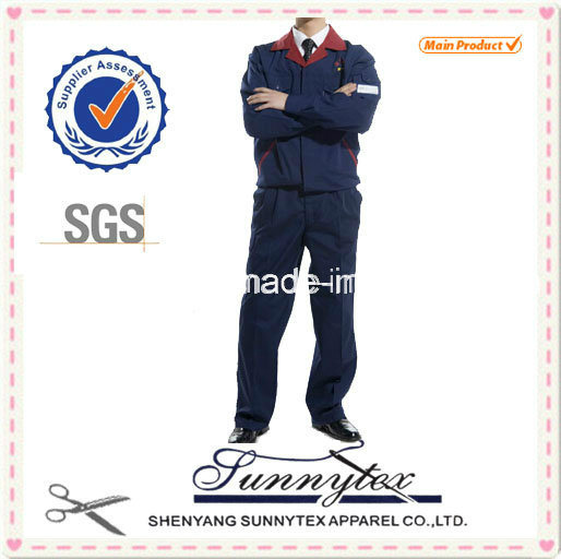 Custom Uniform Cotton High Quality Workwear Suit
