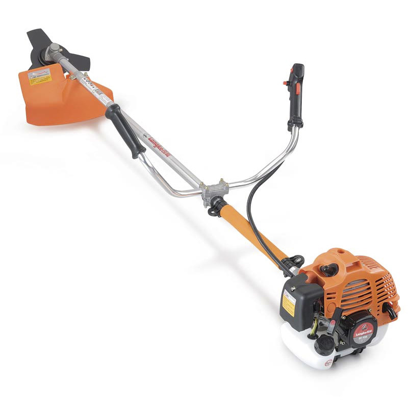 how to use a brush cutter