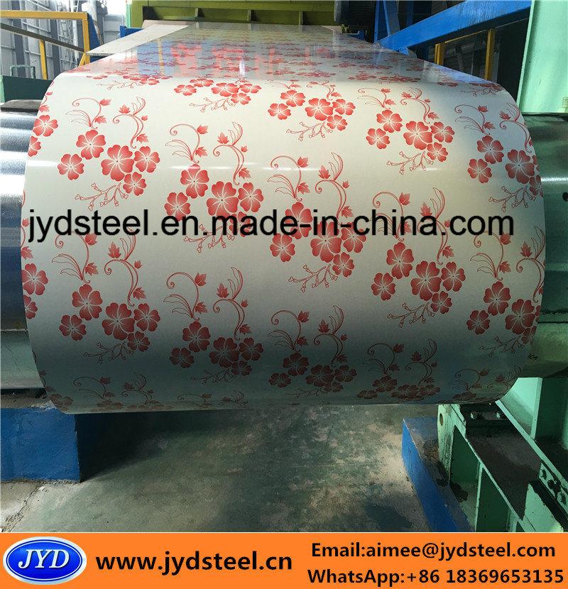 Printed Design PPGI Steel Coil