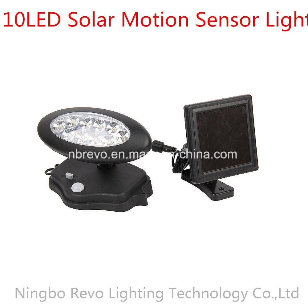 10LED Solar PIR Motion Sensor Security Light (RS2013)