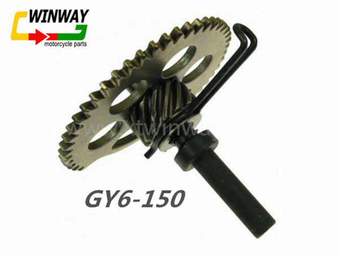 Ww-9773 Motorcycle Part, Gy6 --150cc Rear Idie Sprocket Assembly,