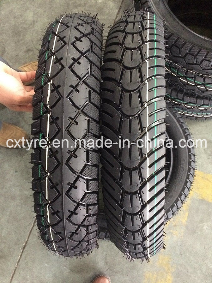 Tubeless Motorcycle Tyre (110/90-16, 90/90-18)