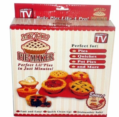 Pie Maker, Silicone Cake Mould/Bakeware, Hot Sall My Lil Pie Maker, My Lil Pie Maker, Perfect Lil Pie, Magic Pie Making Mould, Pie Mould (TV327)