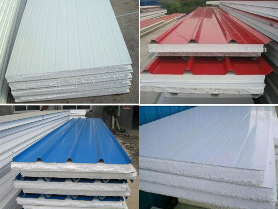 Structural Roof Sandwich Panels : China light weight structural eps sandwich roof tile wall